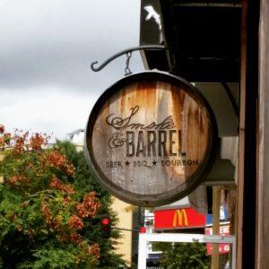 Smoke and Barrel sign