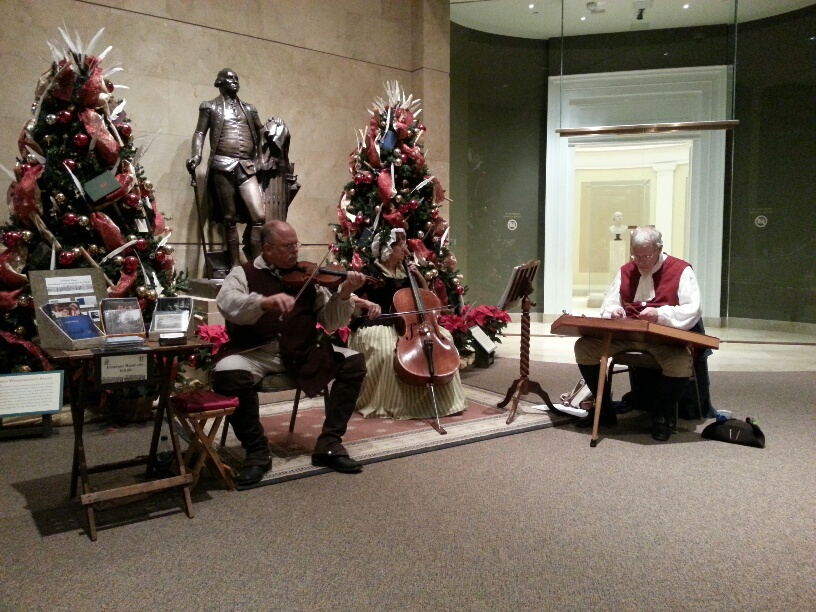 Mount Vernon Candlelight Tour Music