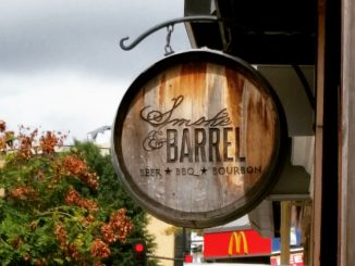Smoke and Barrel sign