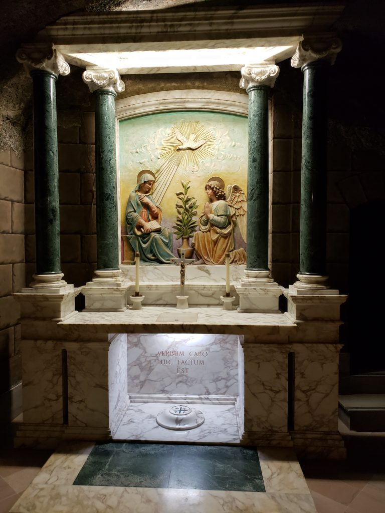 Alter in the catacombs