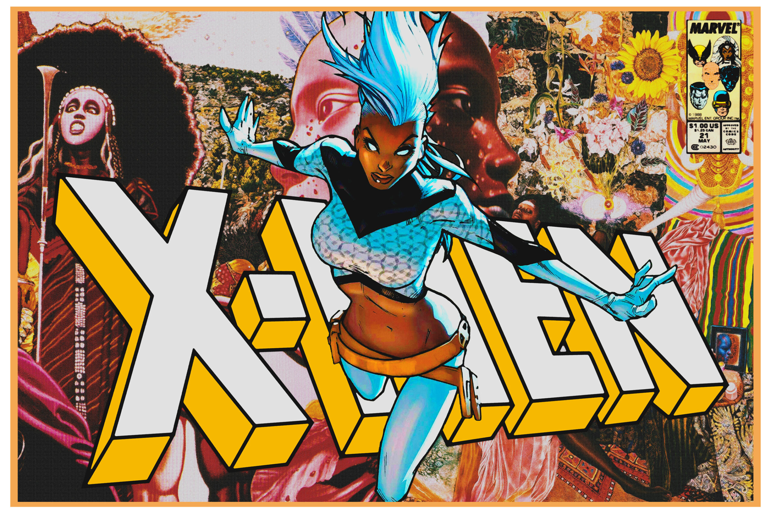 Black superhero from x-men