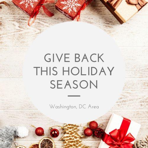 Giving Back Washington DC